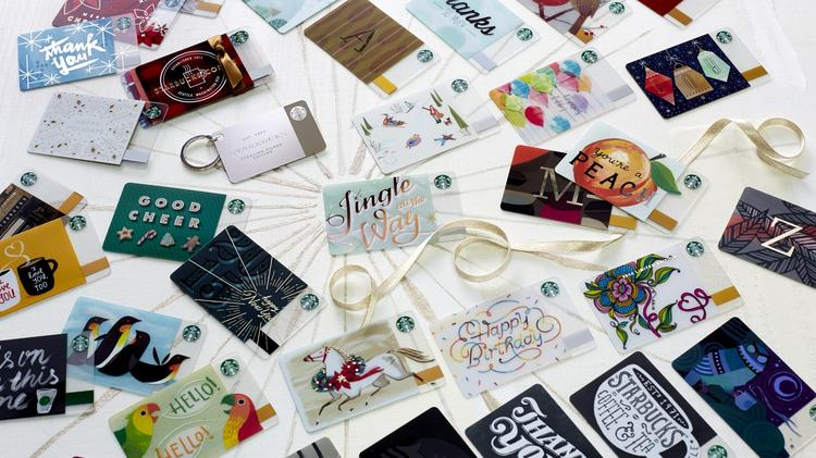 Starbucks Nyse Sbux Says 1 In 6 Americans Got A Gift Card Last