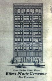 Line Drawing, Eilers Music House Brochure, 1906