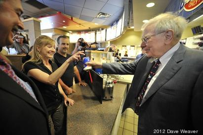 Warren Buffett helps launch DQ's new s'mores-flavored Blizzard Treat