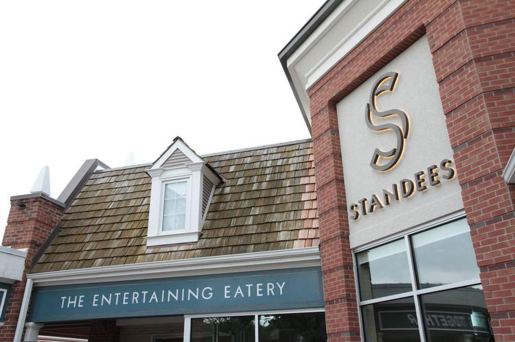 Standees is located at 3935 W. 69th Terrace in Prairie Village at The VIllage Shops.