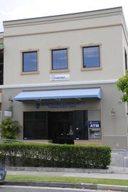 The Windward Community Federal Credit Union anchors one end of the 151 Hekili St. building in Kailua.