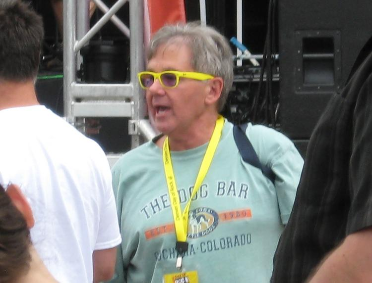 Concert promoter Chuck Morris, president and CEO of AEG Live Rocky Mountains.