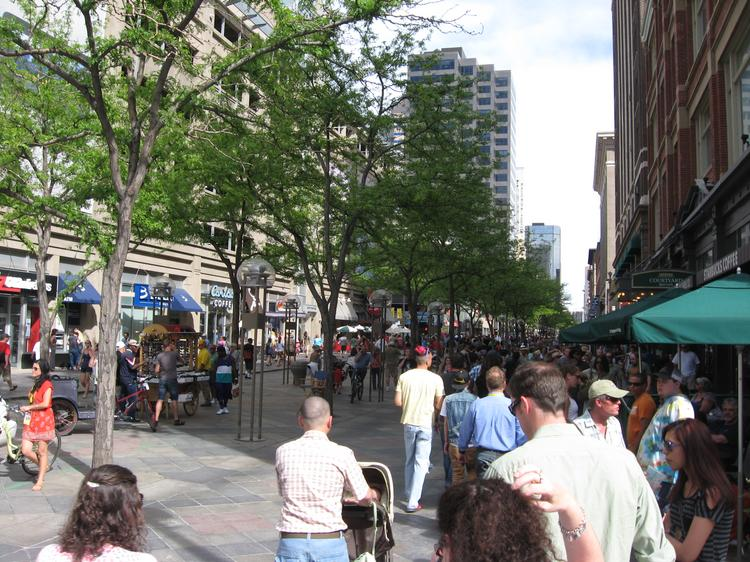 """The 16th Street Mall is """"the heart and soul of downtown,"""" says Visit Denver's Rich Grant."""