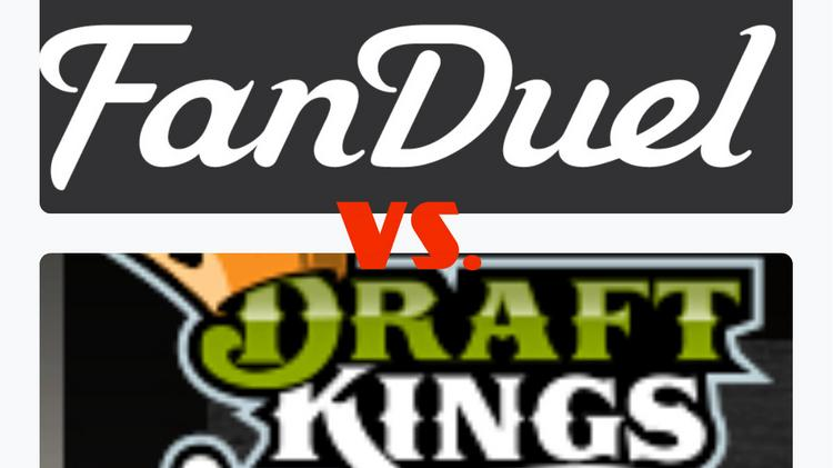 Is this the future of wagering? By this time next year, FanDuel and DraftKings might handle more player fees than all of the legal sports books in Las Vegas.