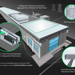 On former steel mill site, <strong>a</strong> new data center emerges