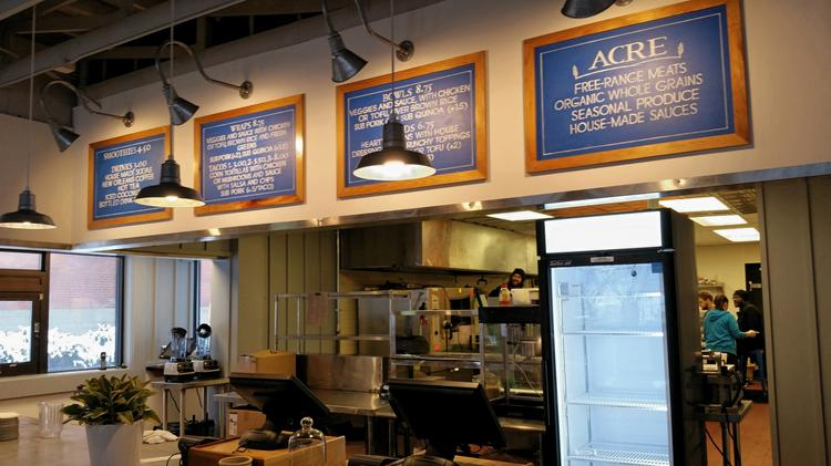 Acre Uses A Fast Casual Locally Sourced Roach To Its Menu