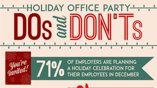 Oh, behave! Do's and don'ts of holiday parties