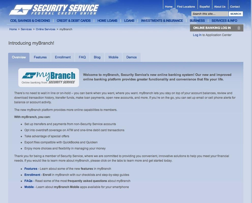 Security Service Rolls Out Upgraded Online Banking Platform San Antonio Business Journal