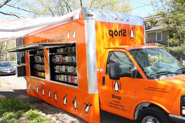 picture of Penguin Book Truck