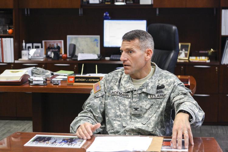 Col. Anthony Hofmann is commander for the Kansas City district of the U.S. Army Corps of Engineers.