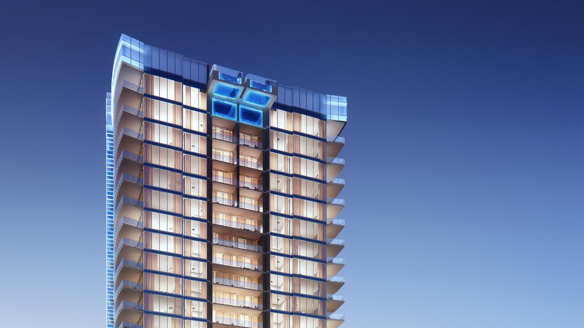 Harwood S Ultra Luxe Skyscraper Bleu Ciel Ready To Rise Into The Sky Dallas Business Journal