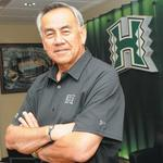 University of Hawaii fires football coach <strong>Norm</strong> <strong>Chow</strong>