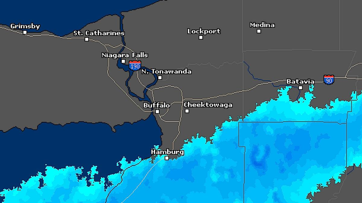 Lake Effect Band Heads South Six Communities Now Have Snow Totals - Us-snow-belt-map
