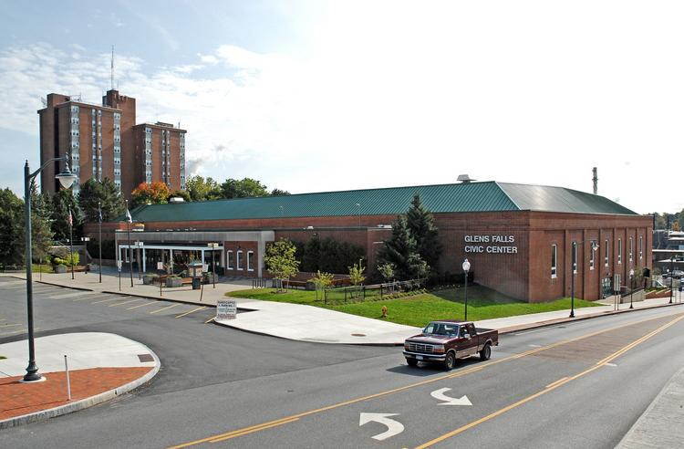 The Glens Falls Civic Center. This year, the city projects that it will spend more than $600,000 to cover operating losses.