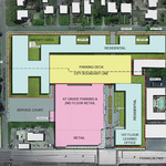 300-plus apartments, sizable retail on tap for former Colonial bakery