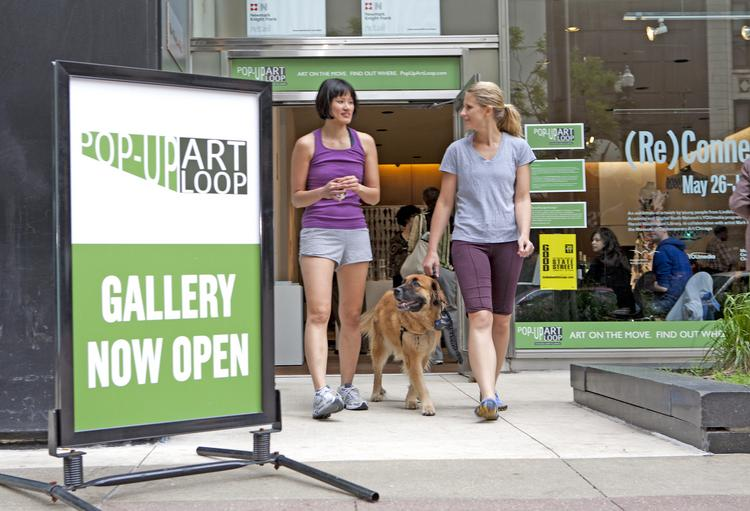 The Chicago Loop Alliance's pop-up art program this summer will include a series of special galleries where artists will use a Zipcar as their canvas.