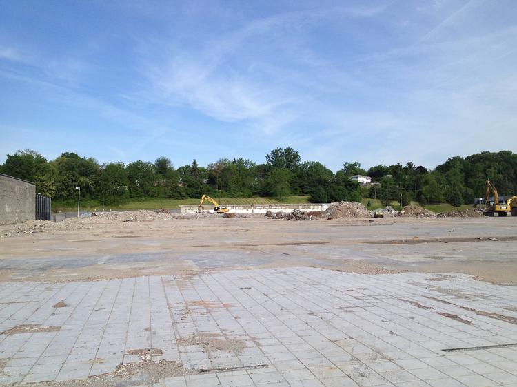 All that's left of Latham Circle Mall in Latham, NY. Speculation now centers on either a Walmart or Costco coming to the mall.