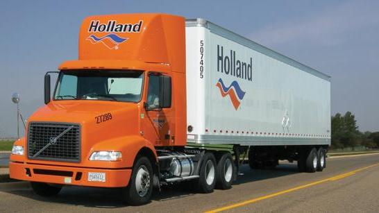 Holland is a subsidiary of less than truckload carrier yrc worldwide