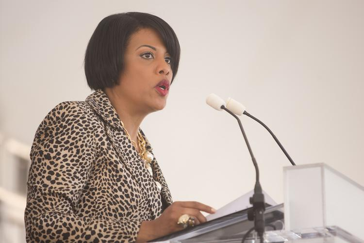 Mayor Stephanie Rawlings-Blake says there would be obstacles in bringing an NBA team to Baltimore but she has hope.