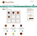 Cocoa Dolce e-commerce feature lets shoppers build a box of chocolates remotely