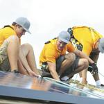 Solar industry construction spending takes deep dive