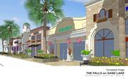 A site plan dated Feb. 13 said The Falls and Dellagio residential project will create a total of 300 permanent jobs and 600 temporary construction jobs.