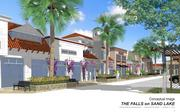 Another view of the 30,000-square-foot upscale commercial center, dubbed The Falls at Sand Lake.