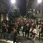Oakland erupts in protest after Ferguson grand jury decision (Video)