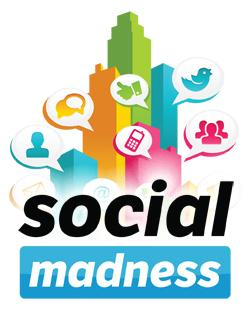 Key Social Madness dates  June 18: The local bracket competition begins among the top eight companies in each category. June 24: The number of competitors in the local competition is narrowed to four in each category. July 2: The finalists in each category are selected. July 9: Local winners will be announced. July 16: National competition begins. Aug. 20: National winners will be announced.