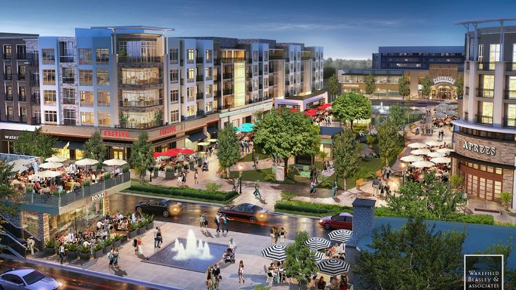 The $1.6 billion development known as Wade Park is underway in Frisco. Ultimately, the project will bring in a number of live-work-play options to the northern suburb.