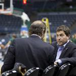 Dynamo Peter Feigin scores early for Bucks, will play the point on arena project