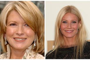 The holiday bakeoff of Martha Stewart vs. Gwyneth Paltrow