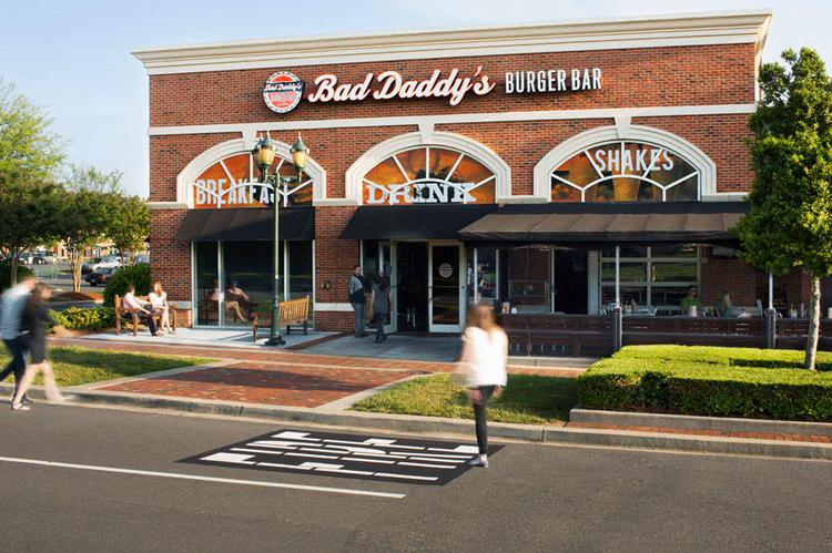 Charlotte-born restaurant chain Bad Daddy's Burger Bar has signed a lease for a Winston-Salem location.