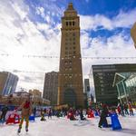 Southwest ice rink ready for skaters in downtown Denver