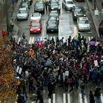 Seattle retailers hit hard by Black Friday Ferguson protests, Westlake Center closure