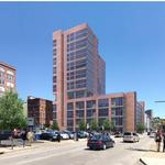 ​Here are the latest renderings for a proposed downtown apartment tower