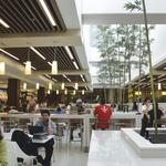 Renovated food court getting good reviews