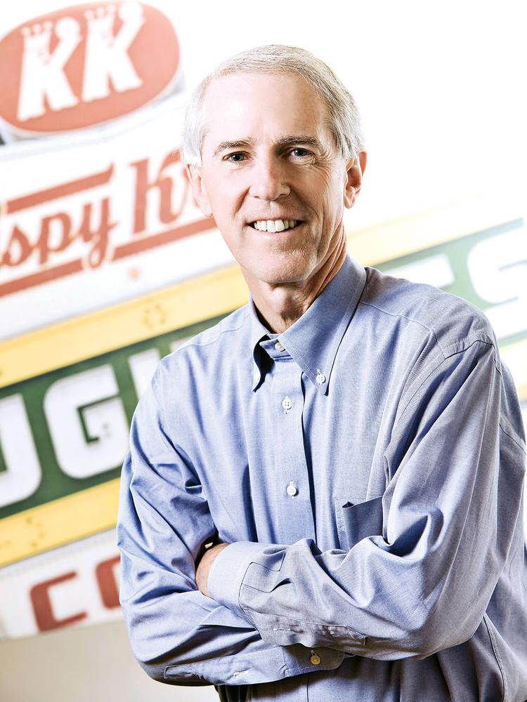 Jim Morgan of Charlotte is executive chairman and former CEO of Krispy Kreme Doughnuts Inc.