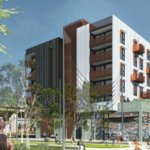 Another new West Oakland apartment complex, with room for 'makers'