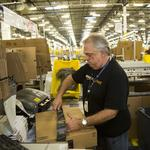 Inside an Amazon fulfillment center on Cyber Monday: Not as hectic as you might think (Video)