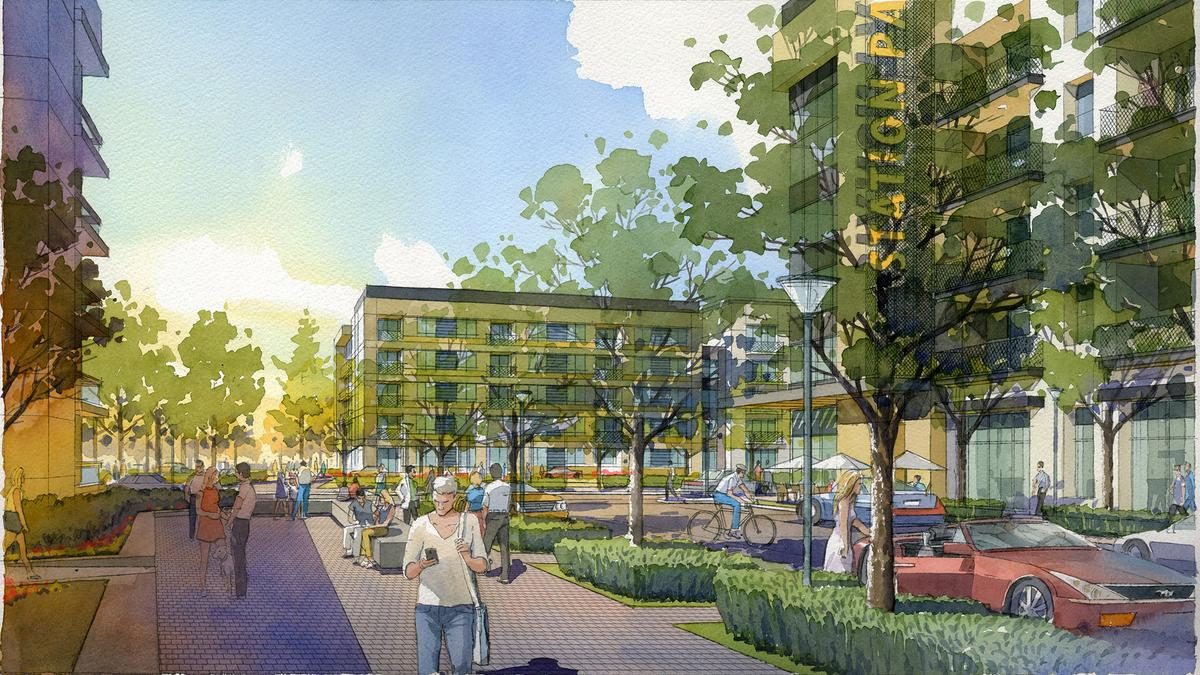 Developers push forward on projects at San Mateo Caltrain stations