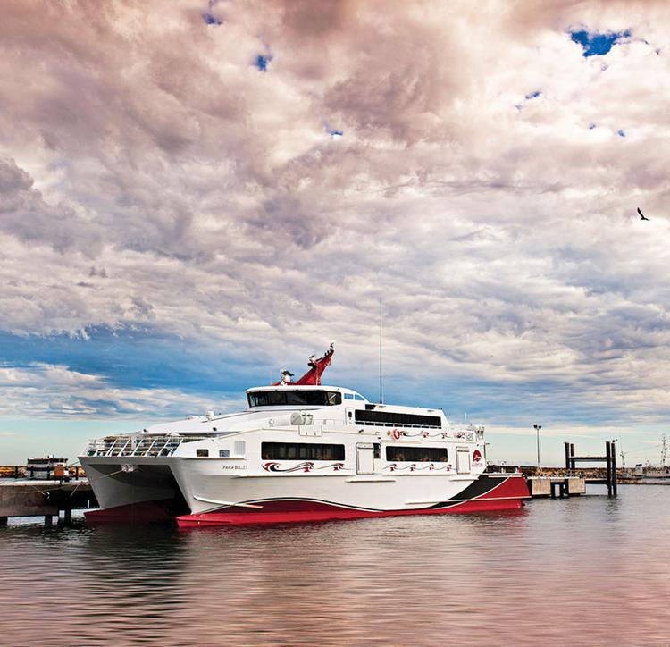A ferry like this one could be used in Tampa Bay.