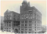 The original Board of Trade building at Eighth and Wyandotte streets (circa early 1900s).