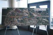 This display offered a broader look at changes being made on the Louisville side of the bridges project.