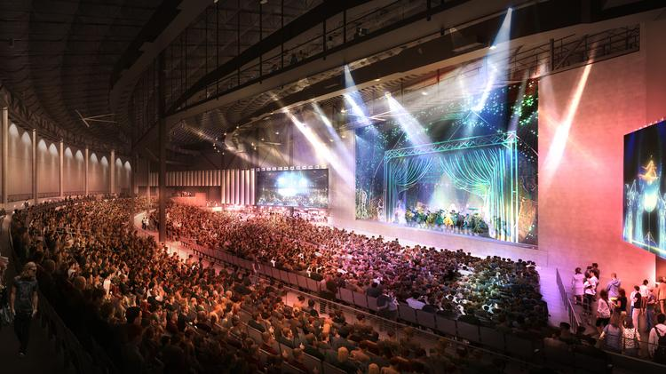 Exclusive Live Nation To Open New 40m Concert Venue At