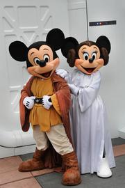 How could it be a Star Wars land without more Jedi Mickey and Princess Minnie? This is a must if Disney's Hollywood Studios makes it happen.