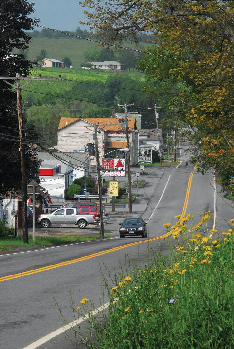 Westerlo, a town anchored by Hannay Reels, has no college campus that would allow it to be included in Gov. Cuomo's new tax breaks.