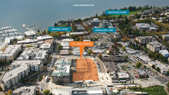 The Nearly One Acre Redevelopment Site At 113 Third St In Downtown Kirkland
