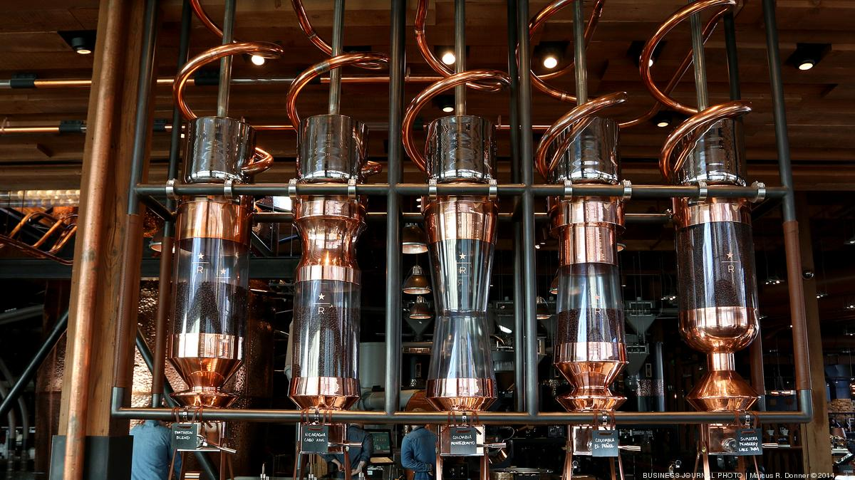 Starbucks Launches Huge Roastery Restaurant Coffee