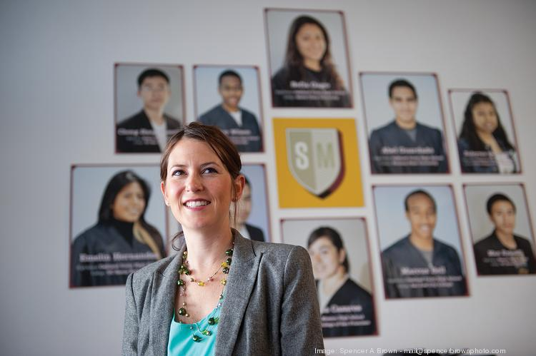 Diana Adamson leads ScholarMatch, which taps employers and friends to send poor students to college.